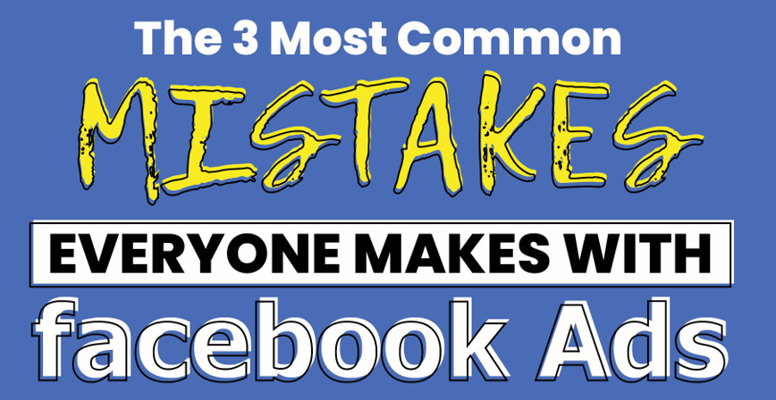 3 common Facebook mistakes